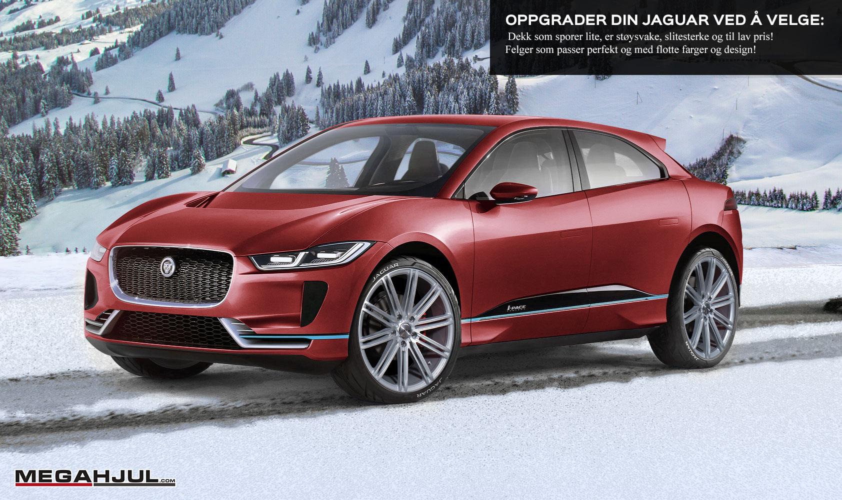 vinterhjulpakke til Jaguar I-pace